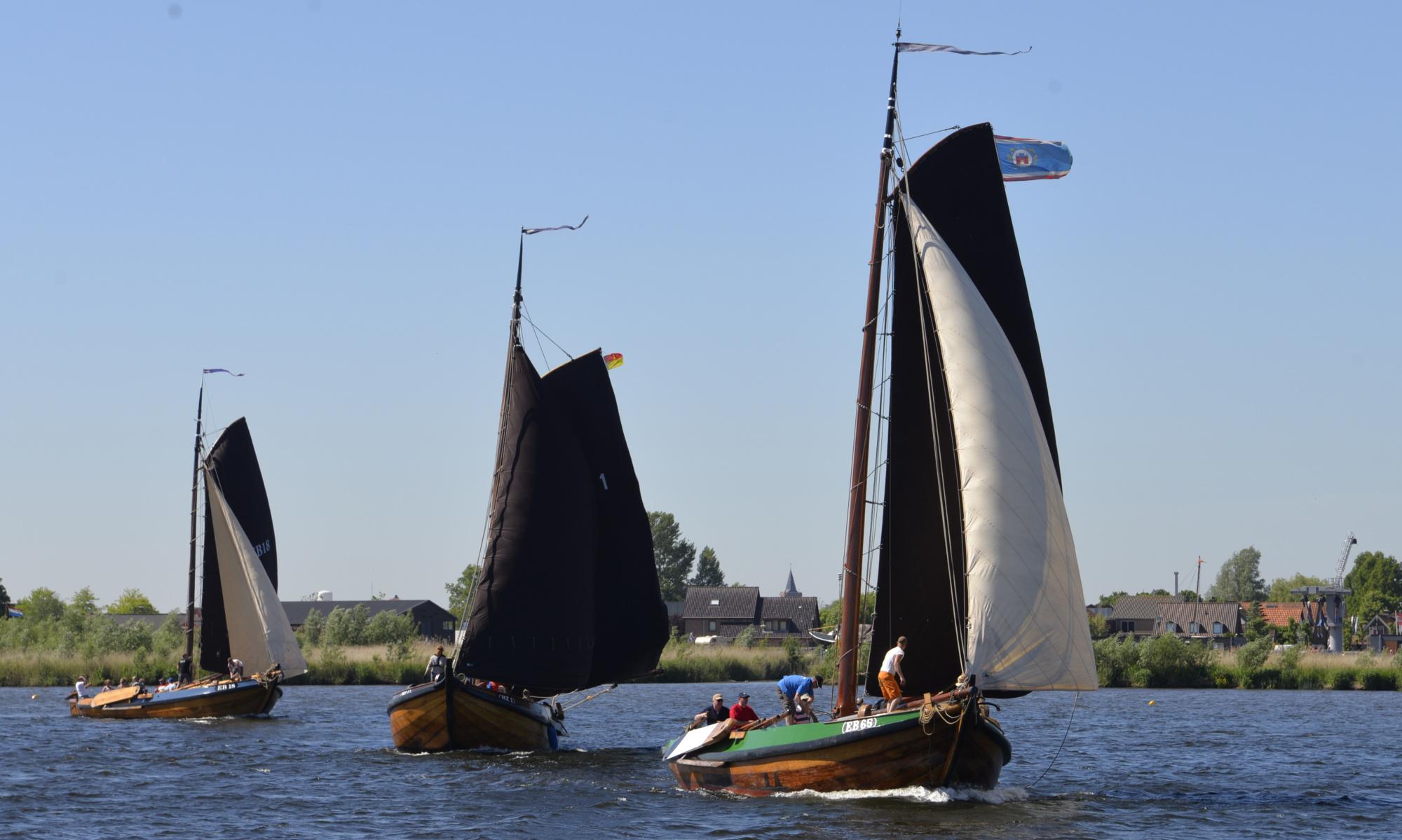 Zuidwal Botterwedstrijden - Spakenburg